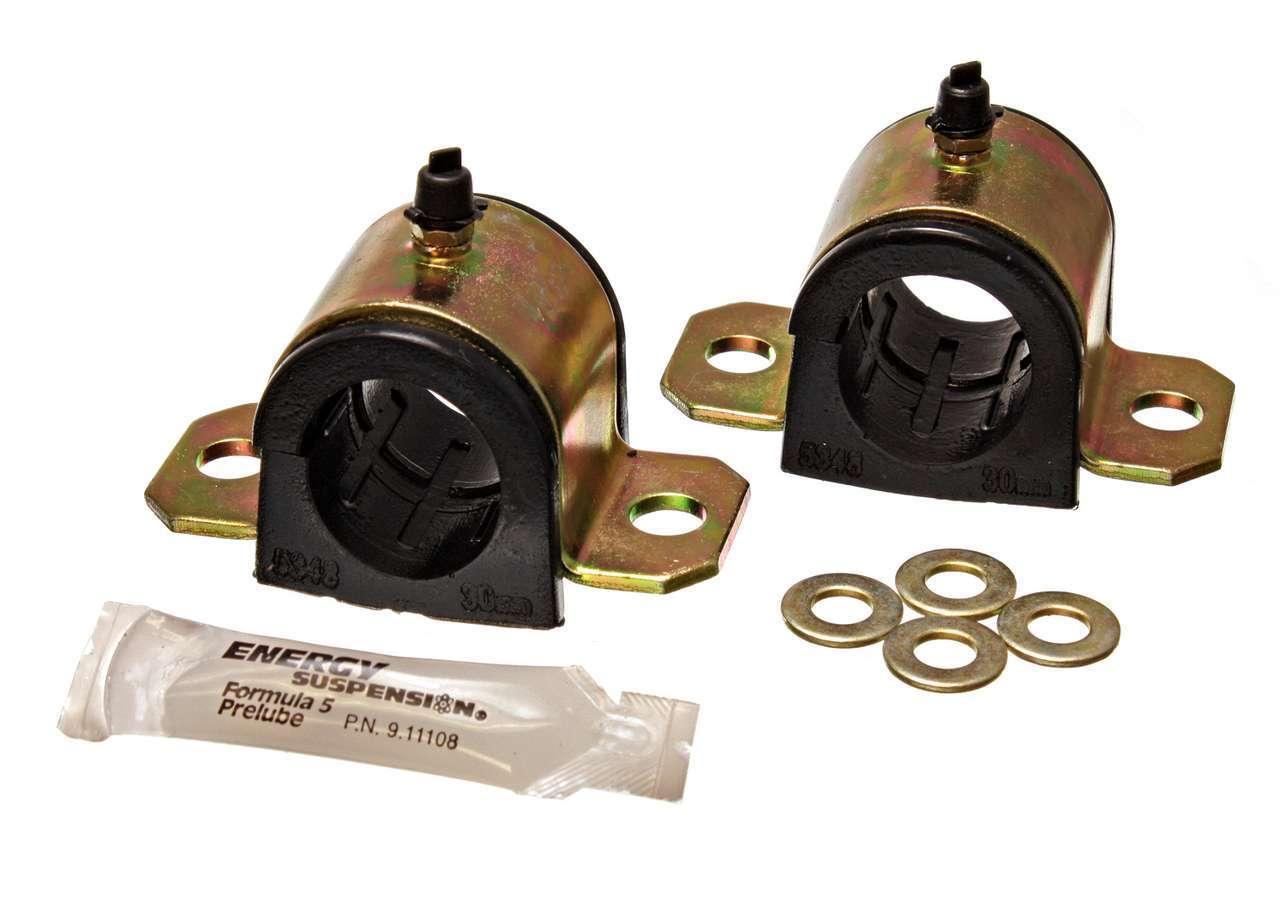 Energy Suspension 8-5121G Sway Bar Bushing, Hyper-Flex, Front, 30 mm Bar, Polyurethane, Black, Toyota Supra 1993-98, Pair