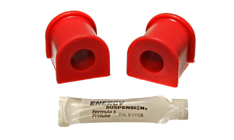 Energy Suspension 8-5132R Bushing Kit, Rear, 18 mm bar, Polyurethane, Red, Scion tC 2005-06, Pair