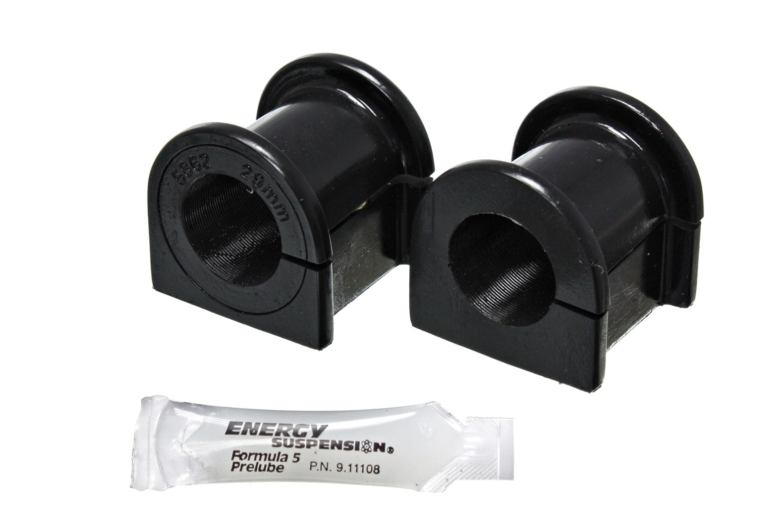Energy Suspension 8-5135G Sway Bar Bushing, Hyper-Flex, Front, 29 mm Bar, Polyurethane, Black, Lexus GX470 / Toyota 4Runner / FJ Cruiser 2003-08, Pair
