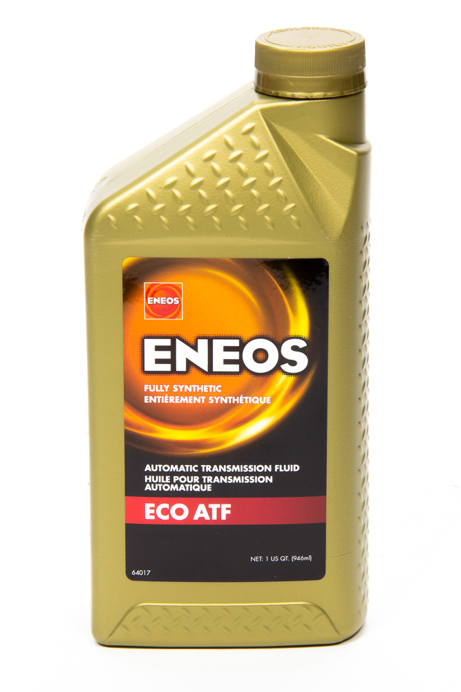Eneos 3103-300 Transmission Fluid, ECO ATF, Synthetic, 1 qt Bottle, Each