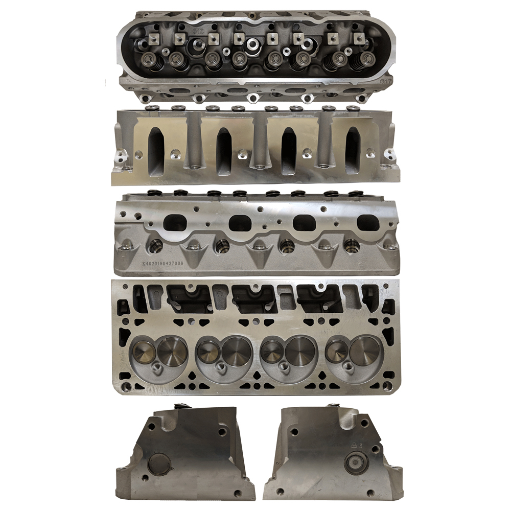 Enginequest EQ-CH364AA Cylinder Head, Assembled, 2.000 in/1.570 in Valves, 211 cc Intake, 71 cc Chamber, Aluminum, GM LS-Series, Each