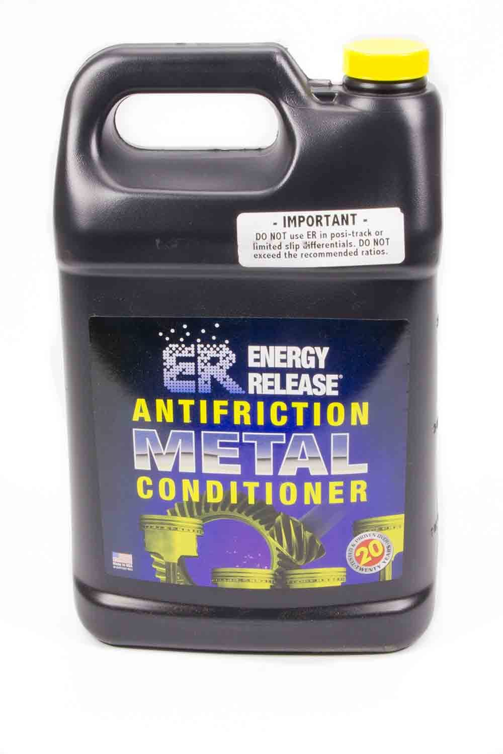Energy Release P003 Metal Conditioner, ER Antifriction Metal Treatment, 1 gal Bottle, Each