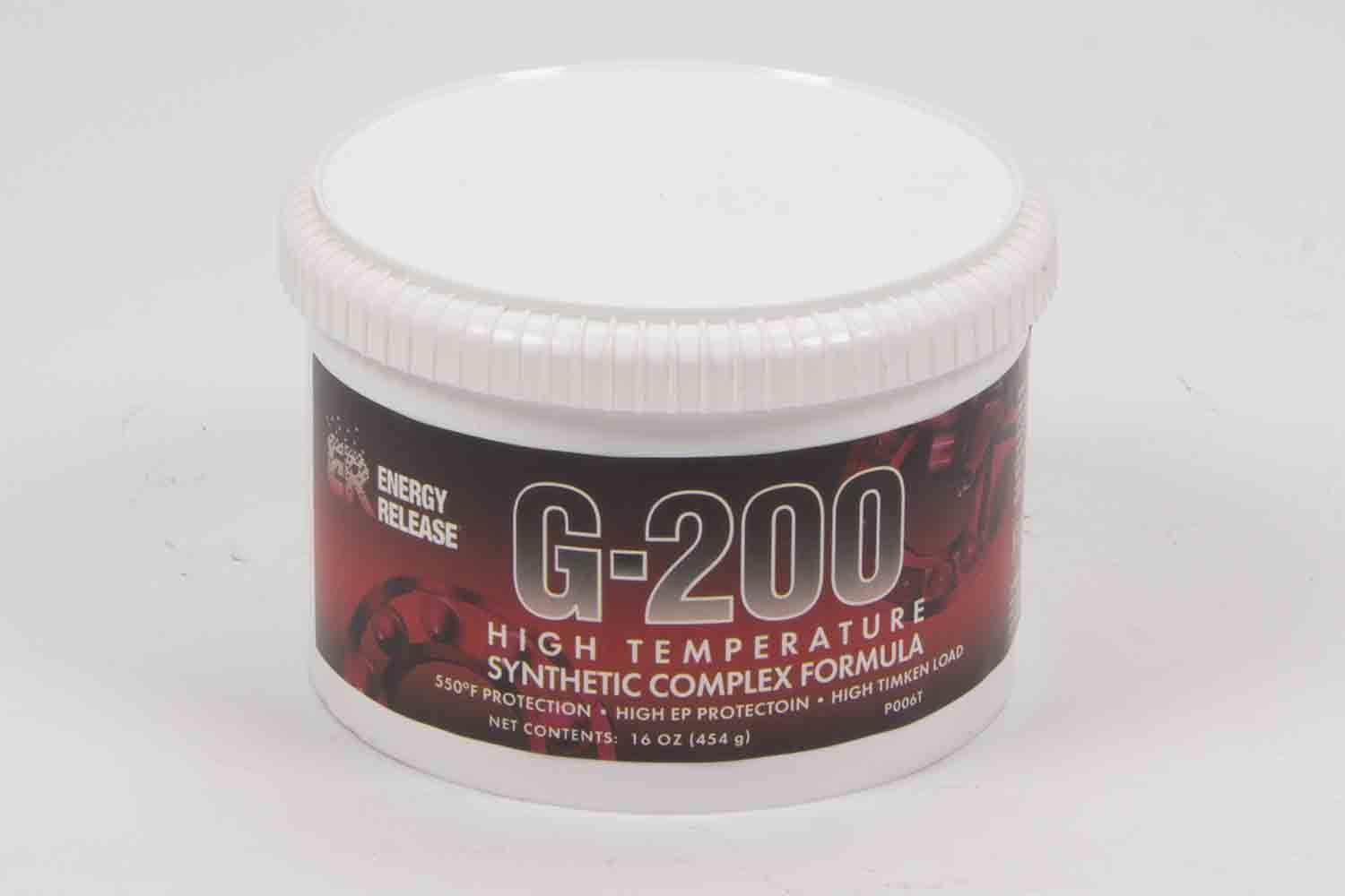 Energy Release P006T Grease, G-200 High Temperature, Synthetic, 16.0 oz Tub, Each