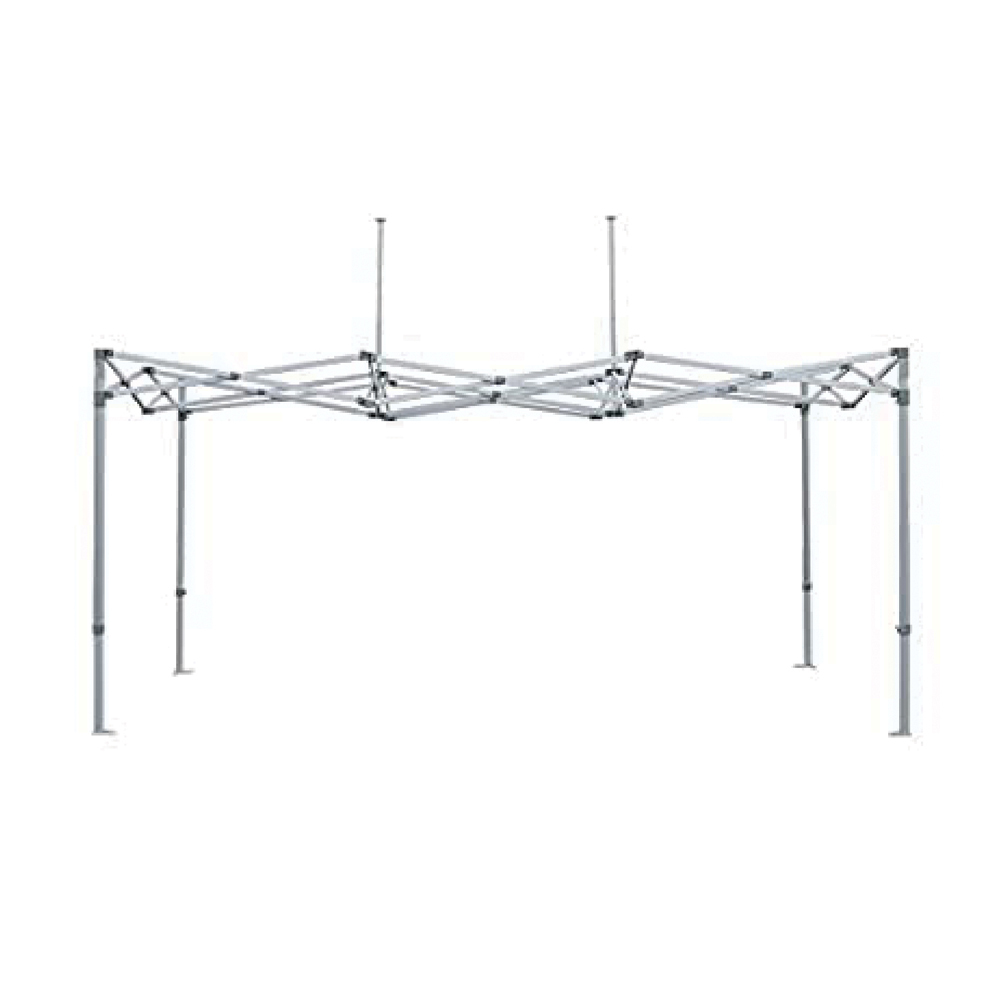 Factory Canopies 20011 Canopy Frame, Pro Grade, 10 x 15 ft, Aluminum, White Anodize, Each