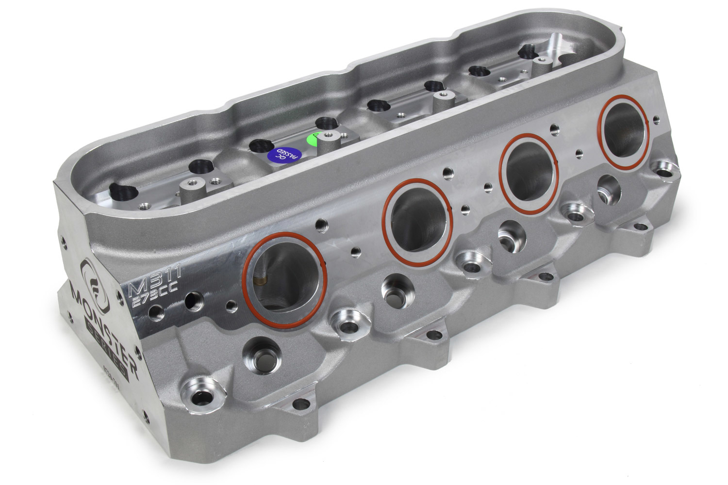 Frankenstein Engine Dynamics 113001 Cylinder Head, M311, Bare, 2.165 / 1.600 in Valve, 273 cc Intake, 71 cc Chamber, Aluminum, LS3, GM LS-Series, Each