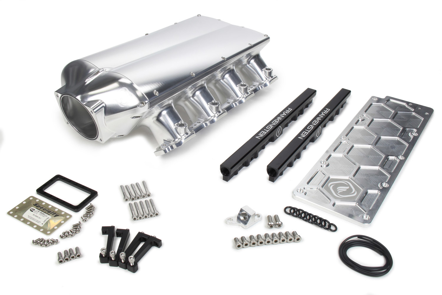 Frankenstein Engine Dynamics 217001 Intake Manifold, LowPro, Fuel Rails Included, Aluminum, Machined, LS7, GM LS-Series, Kit