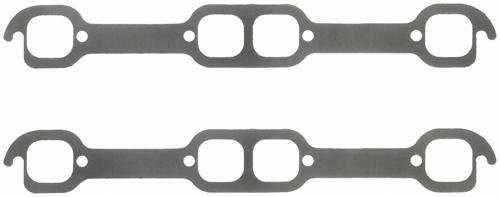 Fel-Pro 18 Deg. SB Chevy Ex. Gsk PORT SIZE 1.74in x 1.6in