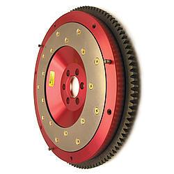 Fidanza 161781 Flywheel, 110 Tooth, 8.0 lb, SFI 1.1, Replaceable Surface, Aluminum, Natural, Internal Balance, Mitsubishi 4-Cylinder, Each