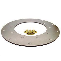 Fidanza 221101 Flywheel Insert Plate, 11.0 in Diameter, Steel, Natural, Each