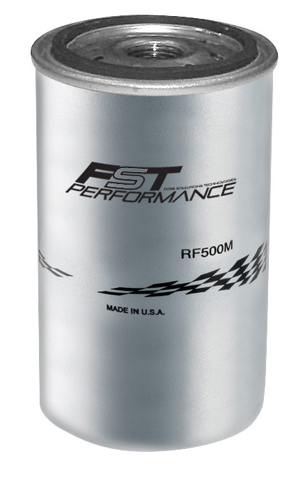 FST Performance RF500M Fuel Filter Element, 3 Micron, Stainless Element, FST Performance Canister Fuel Filters, Each