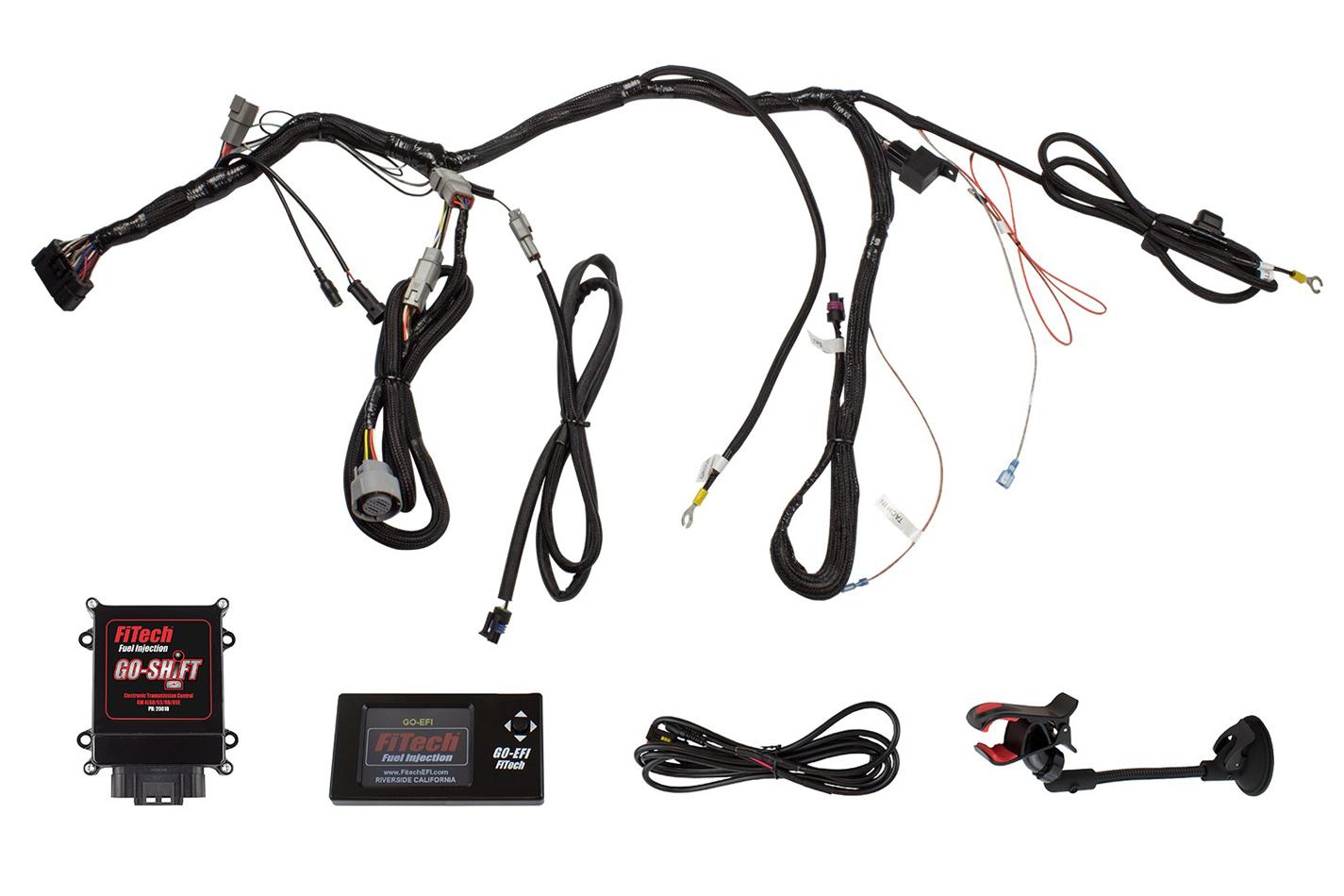 Fitech Fuel Injection 20010 Transmission Control Unit, 4L60 / 4L65 / 4L80 / 4L85E to FiTech Ultimate EFI, Kit