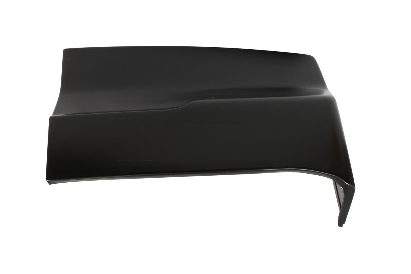 Fivestar 11002-45051-BR Bumper Cover, Passenger Side, Rear, Molded Plastic, Black, 2019 Late Model, Each