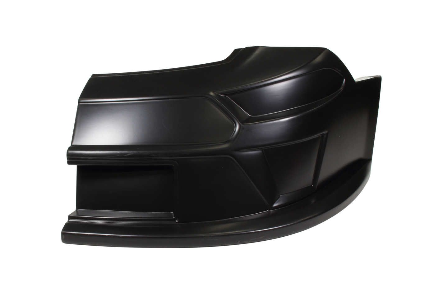 Fivestar 11322-41051-BL Nose, Driver Side, Molded Plastic, Black, Ford Mustang, 2019 Late Model, Each