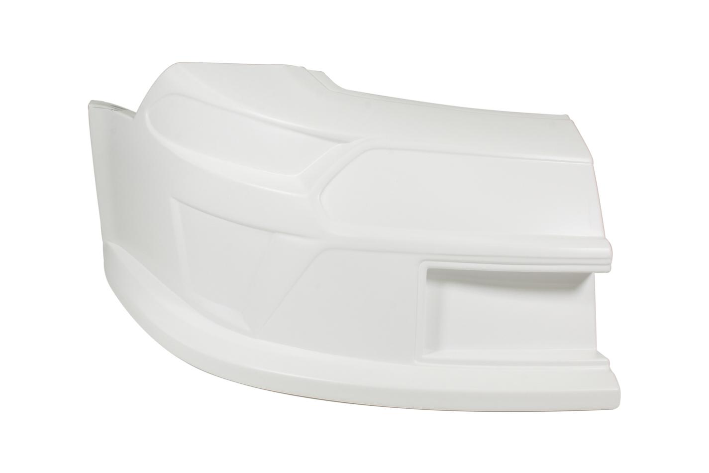 Fivestar 11322-41051-WR Nose, Passenger Side, Molded Plastic, White, Ford Mustang, 2019 Late Model, Each