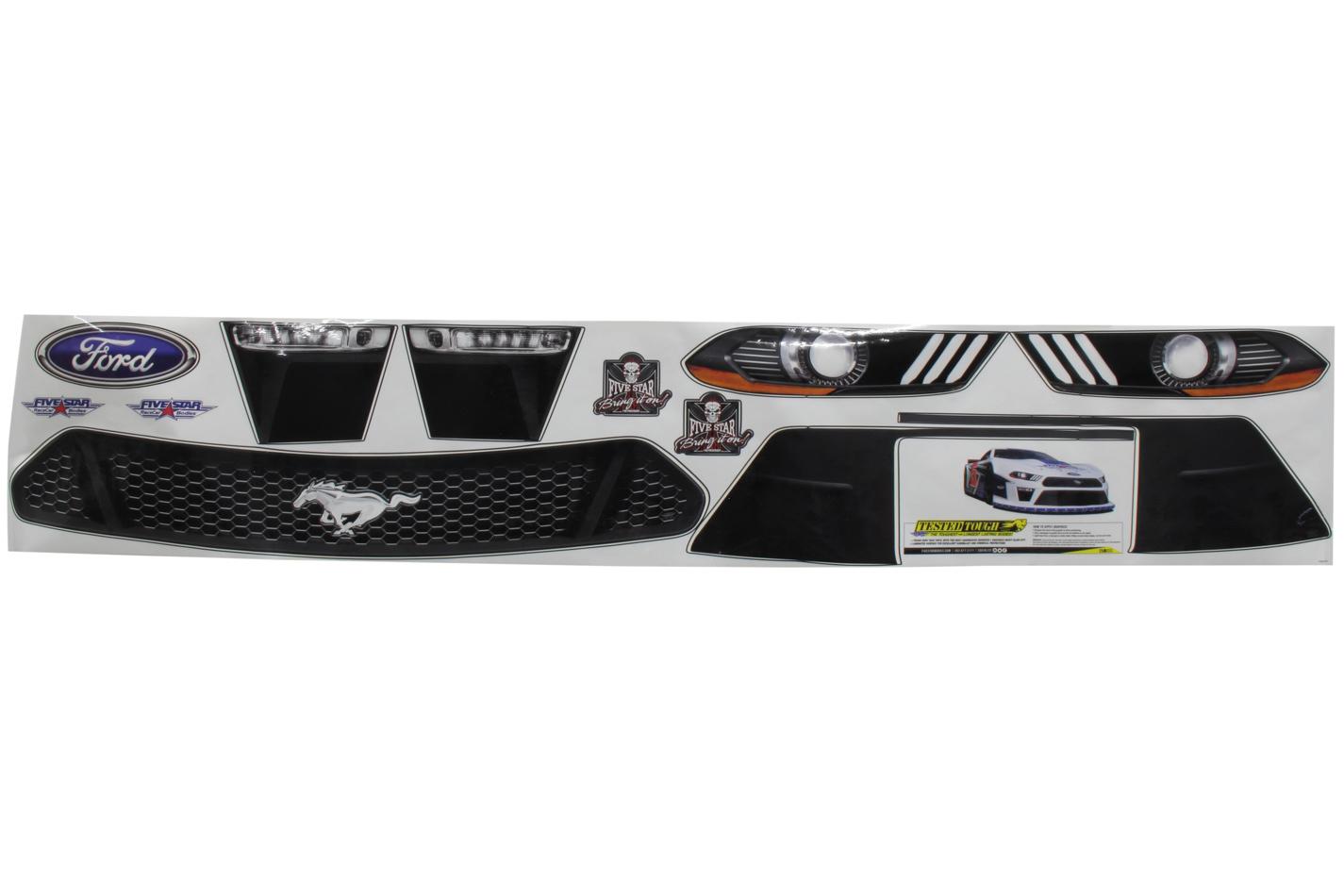 FIVESTAR 2019 LM Mustang Nose ID Kit P/N -11322-44141