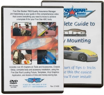 Fivestar 801 DVD, Details Complete Body Mounting Process, Each