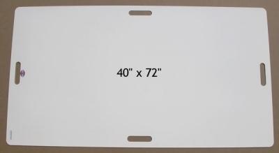 Plastic Mat White