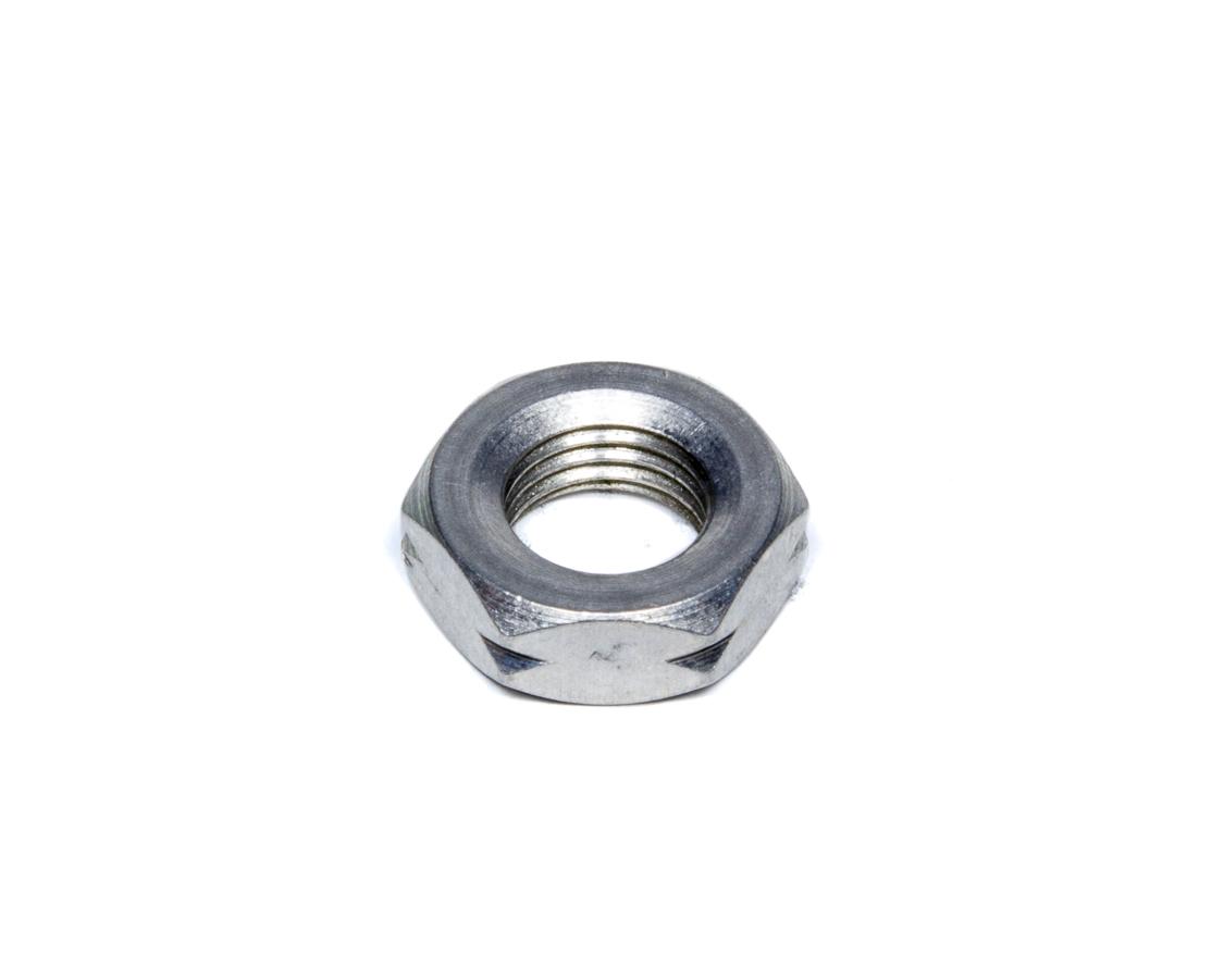 FK Rod Ends AJNL07 Jam Nut, 7/16-20 in Left Hand Thread, Aluminum, Natural, Each