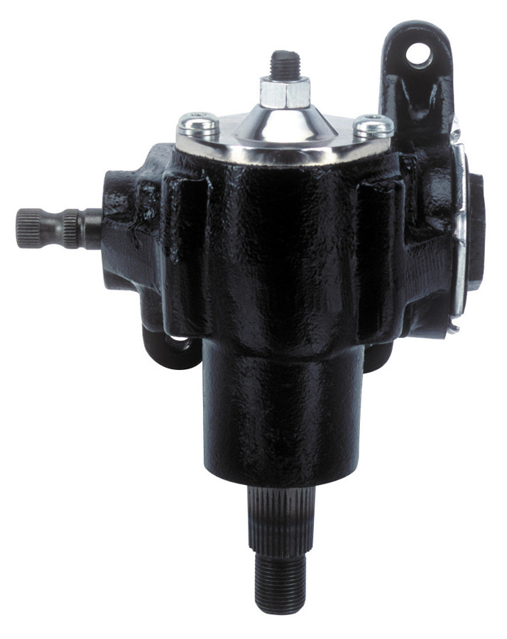 Flaming River FR1500 Steering Box, Manual, Vega, 20 to 1 Ratio, Iron, Black Paint, Universal, Each