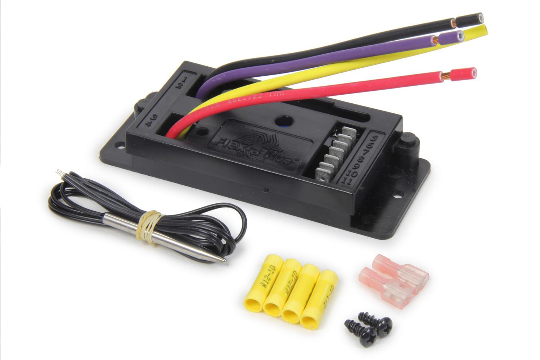 Flex-A-Lite 107000 Fan Controller, Replacement, Flex-A-Lite Direct Fit 15 in Fan, Kit