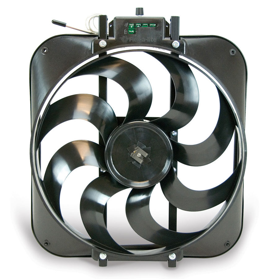 15in S-Blade Electric Fan w/Temp Control
