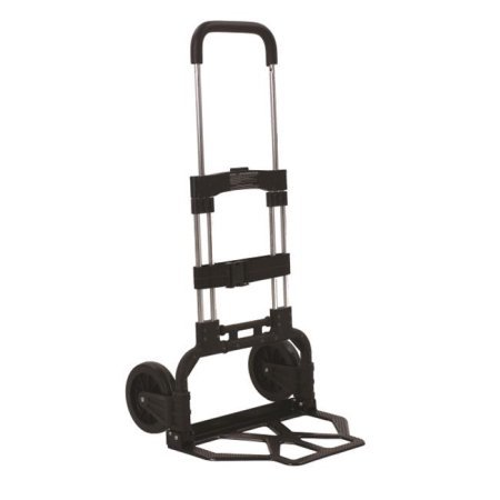 Flo-Fast 60601 Utility Jug Cart, Telescoping Handle, Folding, Strap Included, Steel, Natural, 7-1/2 Gallon Jugs, Each