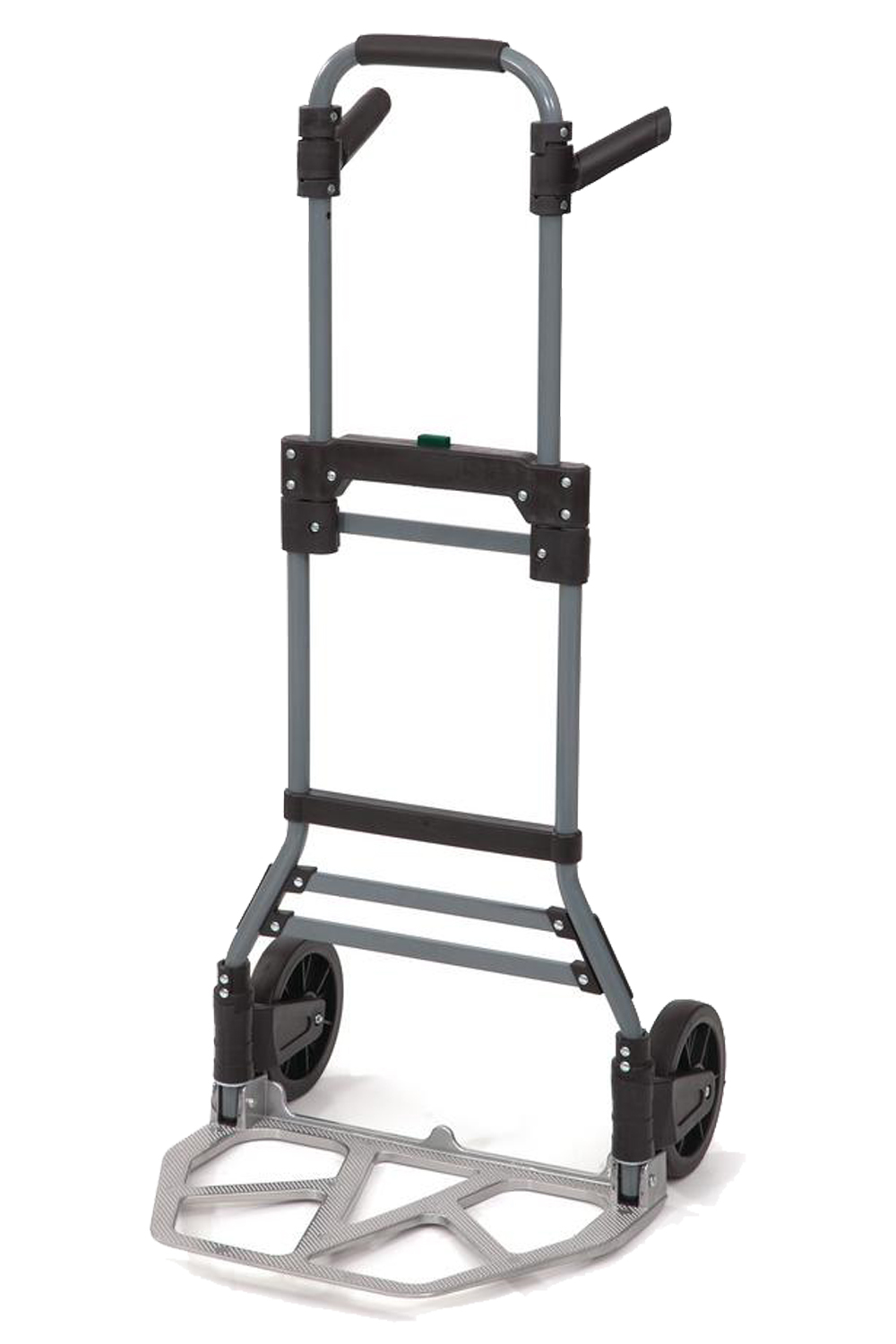 Flo-Fast 60602-K Utility Jug Cart, Telescoping Handle, Folding, Strap Included, Aluminum, Natural, Each