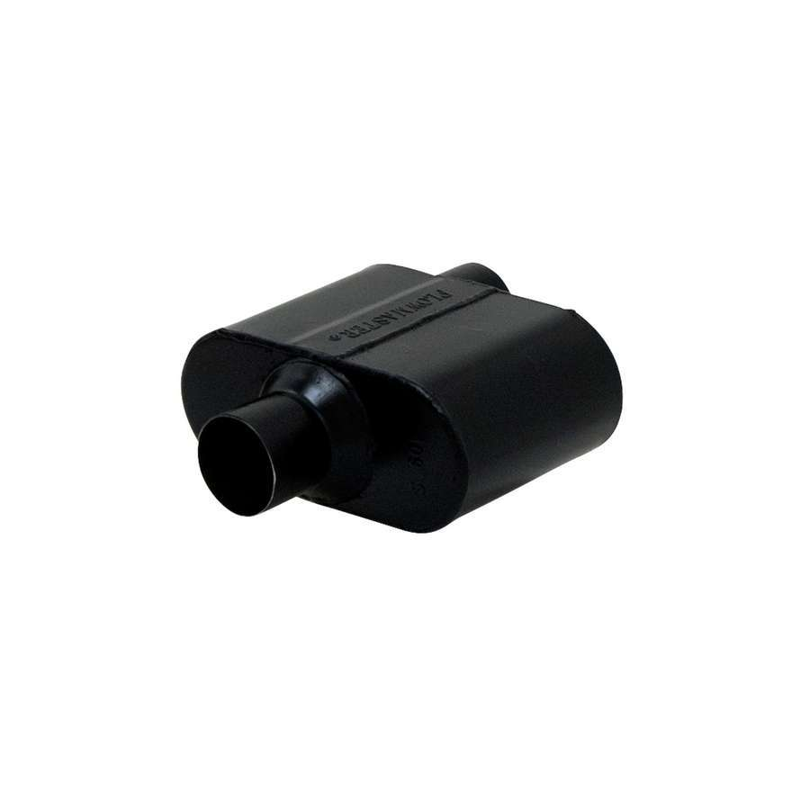 Super 10 Series Muffler 2.5in Offset/2.5in Centr