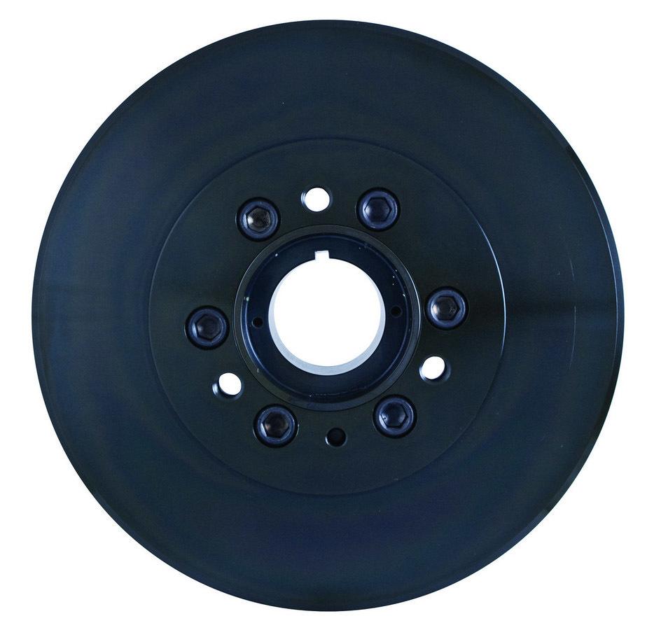 Fluidampr 800101 Harmonic Balancer, 8.000 in OD, Steel, Black, Internal Balance, Big Block Chevy, Each