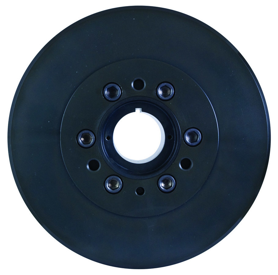 Fluidampr 800111 Harmonic Balancer, 8.000 in OD, Steel, Black, External Balance, Big Block Chevy, Each