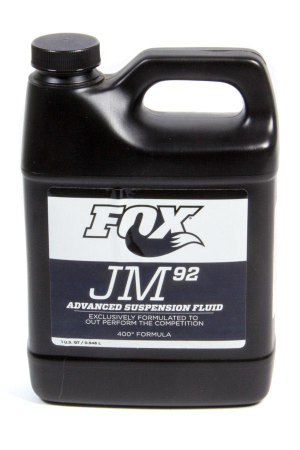 Fox Factory 025-03-011 Shock Oil, Fox JM 92, Synthetic, 1 qt Jug, Each