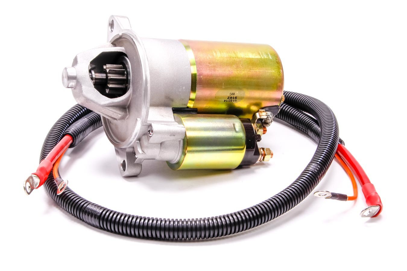 Ford M11000-B51 Starter, High Torque, Mini Starter, Gear Reduction, Cadmium / Natural, 157 Tooth Flywheel, Small Block Ford / Cleveland / Modified, Each