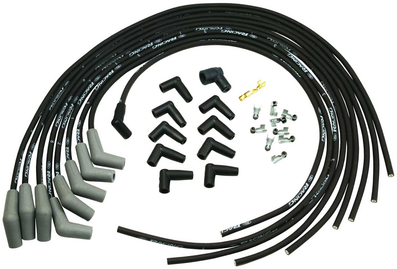 9mm Black Spark Plug Wire Set