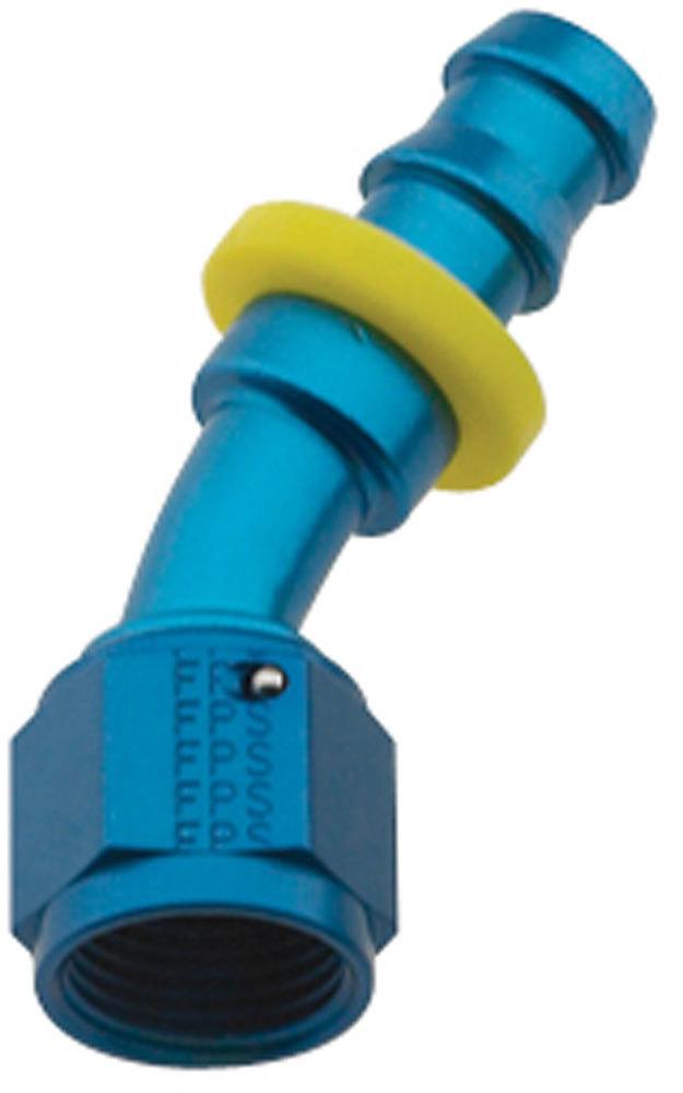 Hose Fitting #8 30 Deg Push Lock