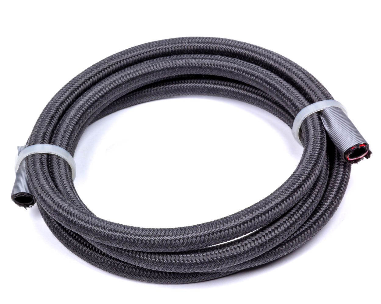 Fragola 2701004 Hose, 4 AN, 10 ft, Braided Fire Retardant Fabric, PTFE, Black, Each