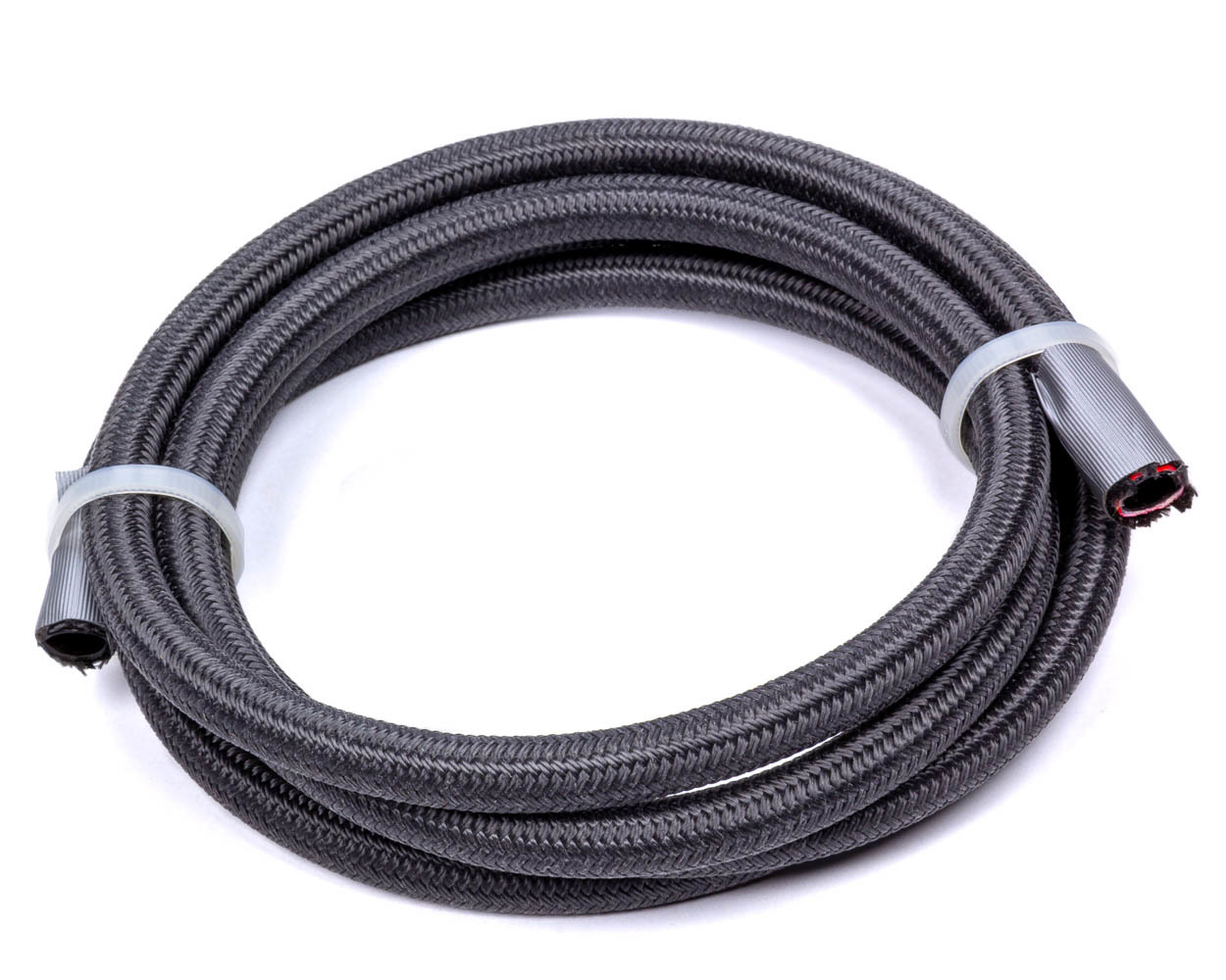 Fragola 2701504 Hose, 4 AN, 15 ft, Braided Fire Retardant Fabric, PTFE, Black, Each