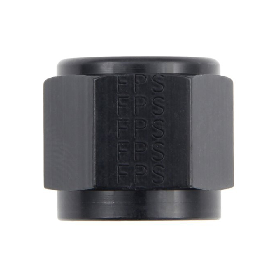 Fragola 481812-BL Fitting, Tube Nut, 12 AN, 3/4 in Tube, Aluminum, Black Anodize, Each