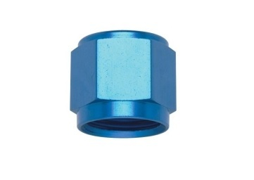 Fragola 481816 Fitting, Tube Nut, 16 AN, 1 in Tube, Aluminum, Blue Anodize, Each