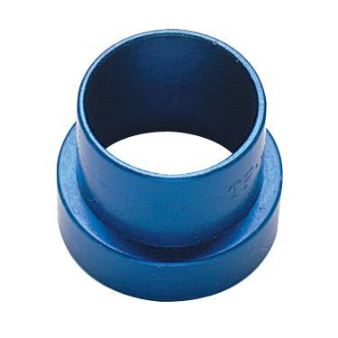 Fragola 481912 Fitting, Tube Sleeve, 12 AN, 3/4 in Tube, Aluminum, Blue Anodize, Each