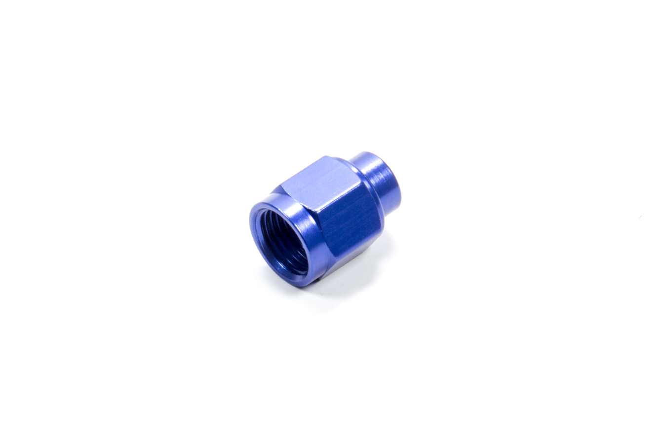 Fragola 492906 Fitting, Cap, 6 AN, Aluminum, Blue Anodize, Each