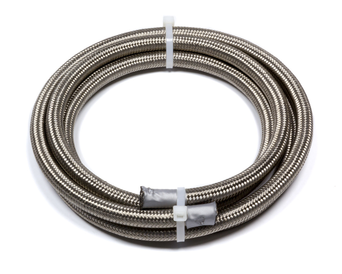 Fragola 706004 Hose, Series 3000, 4 AN, 6 ft, Braided Stainless, Rubber, Natural, Each