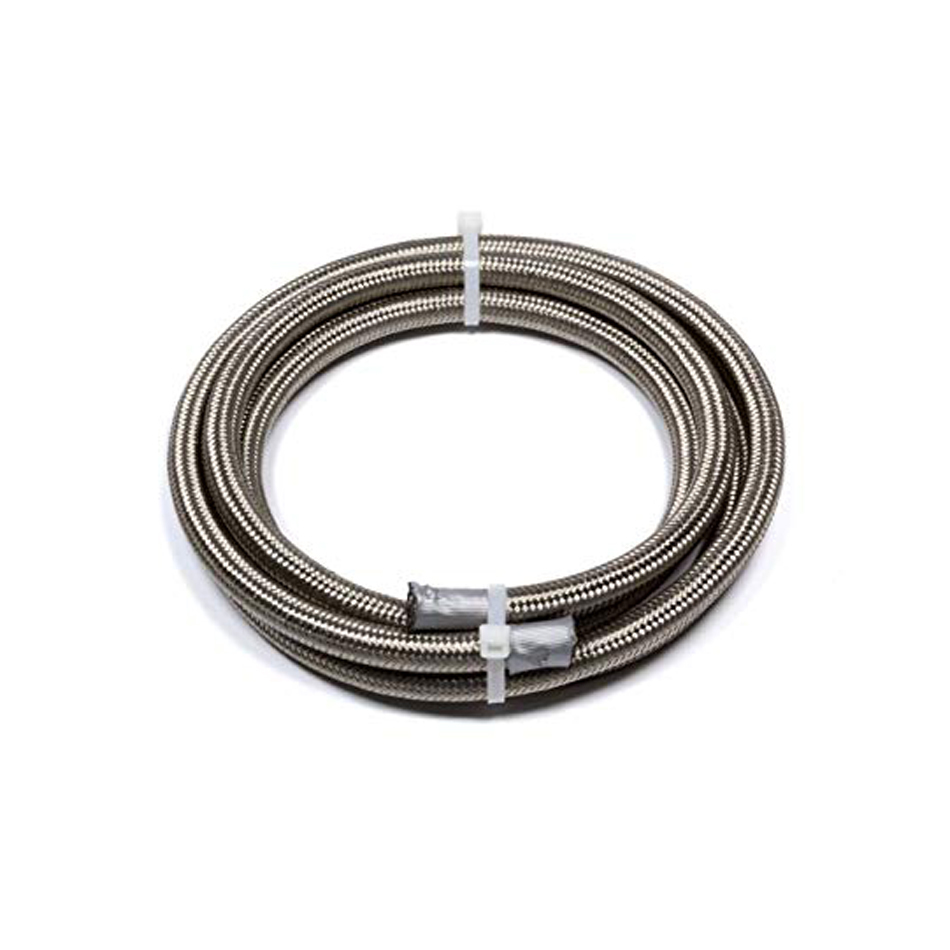 Fragola 706006 Hose, Series 3000, 6 AN, 3 ft, Braided Stainless, PTFE, Natural, Each