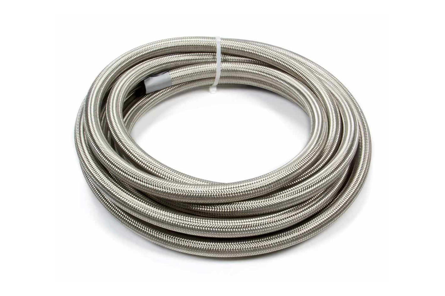Fragola 720010 Hose, Series 3000, 10 AN, 20 ft, Braided Stainless, Rubber, Natural, Each