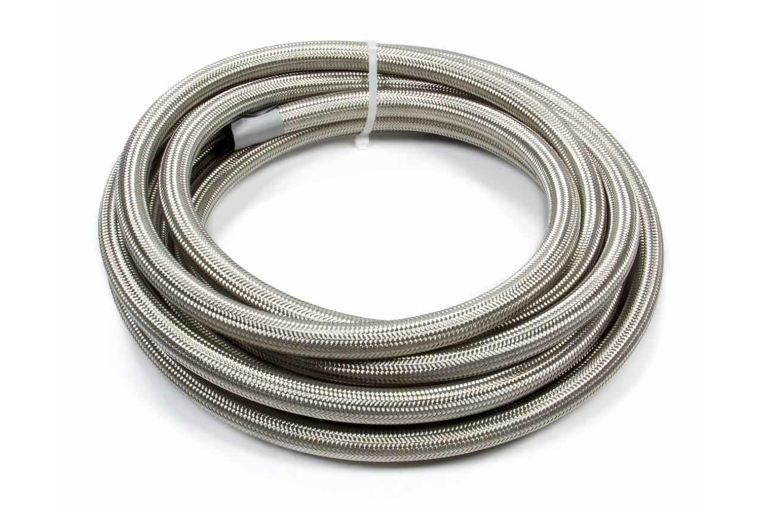 Fragola 720012 Hose, Series 3000, 12 AN, 20 ft, Braided Stainless, Rubber, Natural, Each