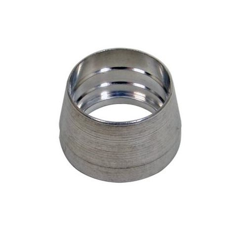 Fragola 999312 Compression Ferrule, 12 AN, Aluminum, Natural, Each