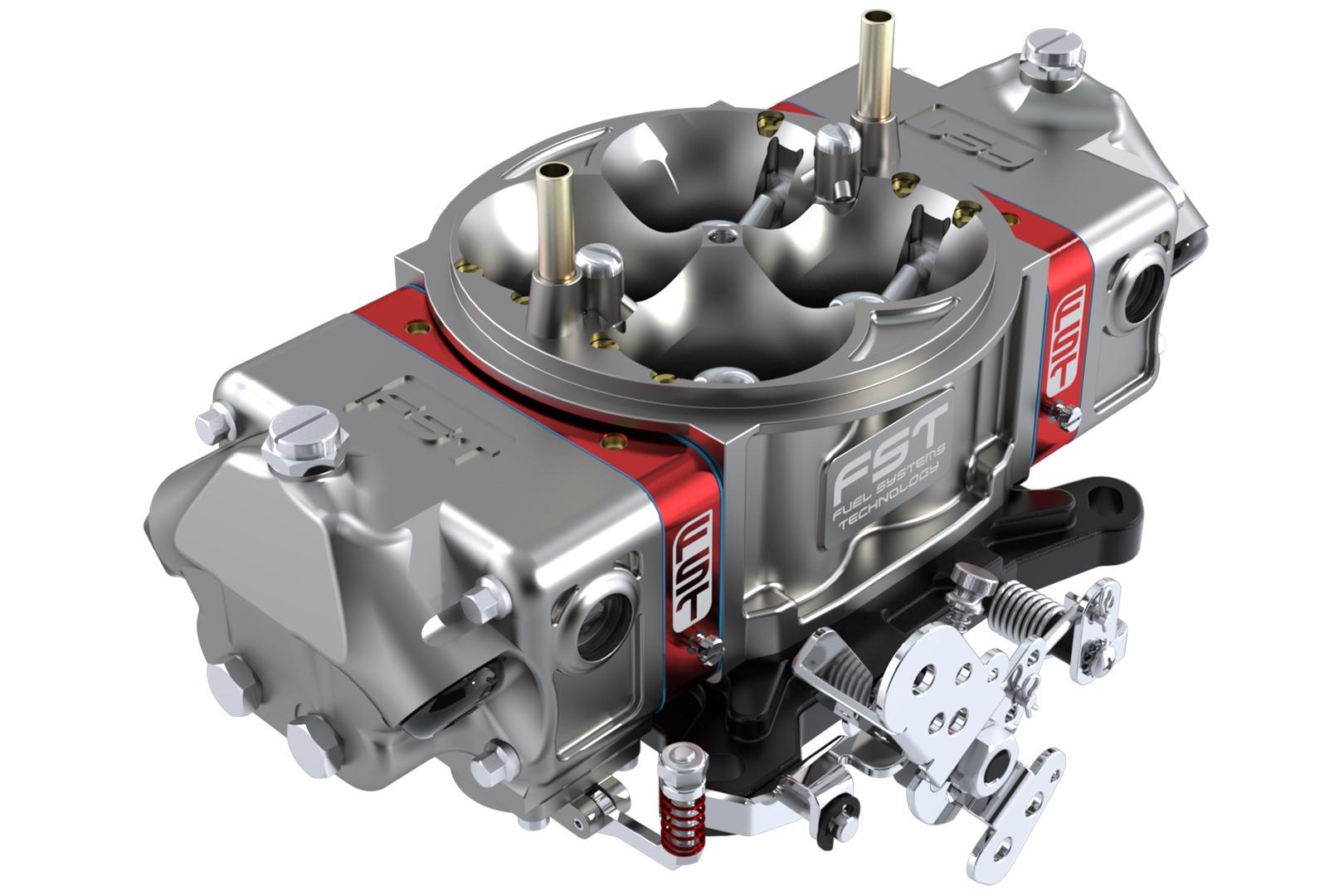 FST Performance Carburetor 41750B-1 Carburetor, Billet X-treme, 4-Barrel, 750 CFM, Square Bore, Mechanical Secondary, Dual Inlet, Titanium Anodize, Each