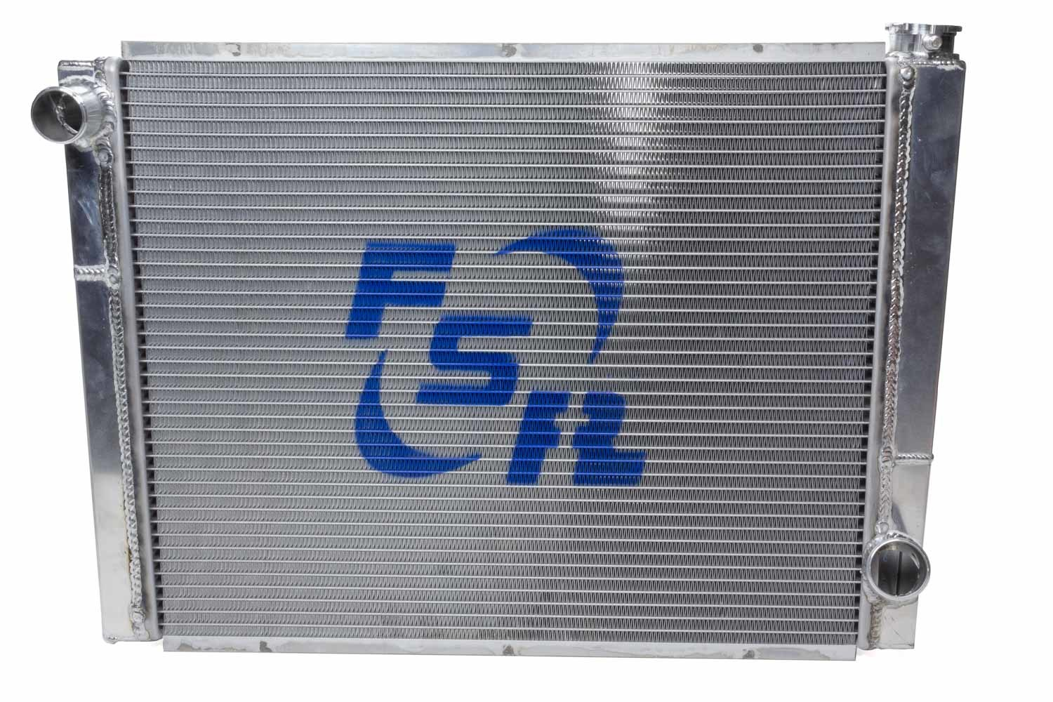 FSR Racing 2619T2 Radiator, 26 in W x 19 in H, Triple Pass, Driver Side Inlet, Passenger Side Outlet, Aluminum, Natural, Each