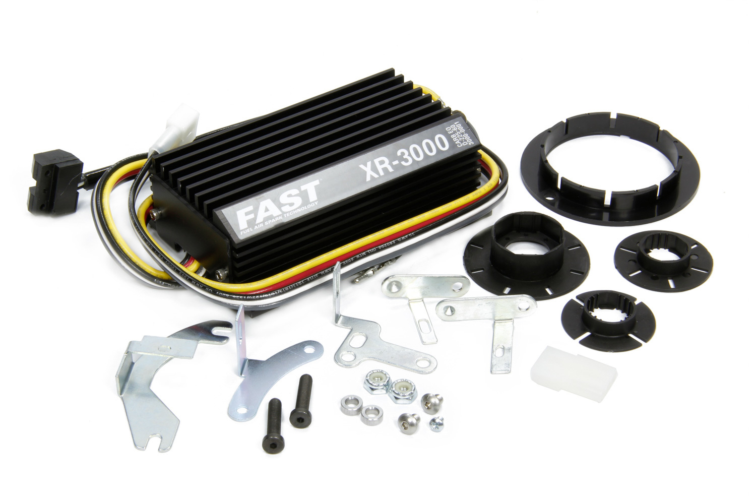 FAST 3000-0226 Ignition Conversion Kit, XR3000, Points to Electronic, Optical Trigger, Domestic 4 / 6 / 8-Cylinder / VW / Bosch 009 Distributor, Kit