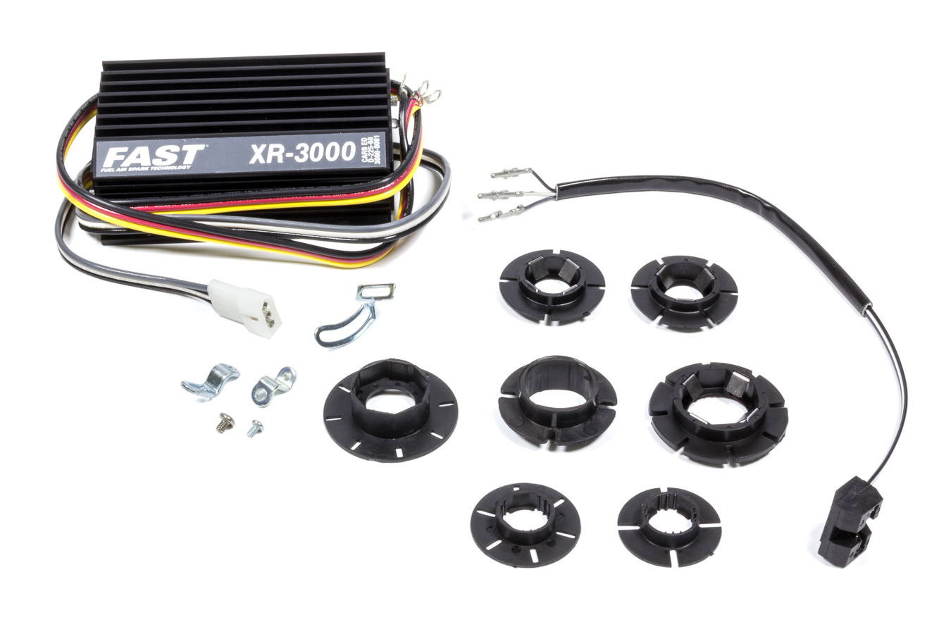 FAST 3000-0231 Ignition Conversion Kit, XR3000, Points to Electronic, Optical Trigger, Import / Universal 4 / 6 / 8-Cylinder, Kit