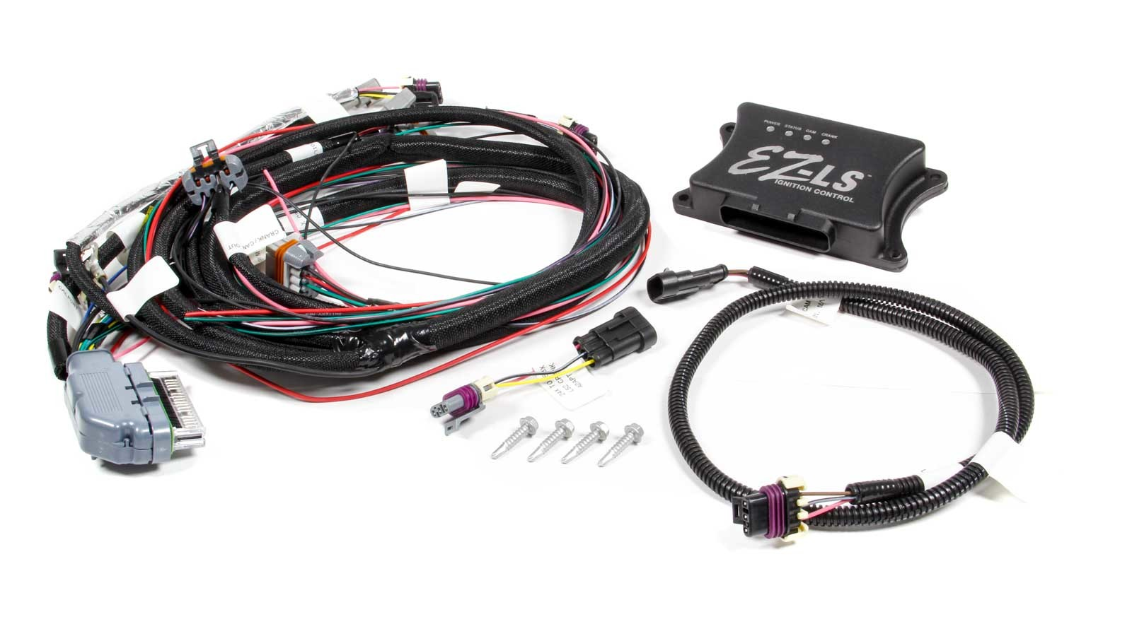 Fast Electronics 301312E Ignition Controller, EZ-LS, Coil-On-Plug, Wiring Harness Included, 24/58 Tooth Reluctor, GM LS-Series, Kit